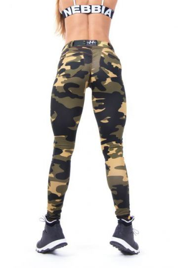 NEBBIA Bubble Butt Leggings 252 Camo