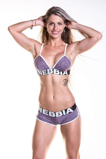 NEBBIA Fitness BH 267 - Violett