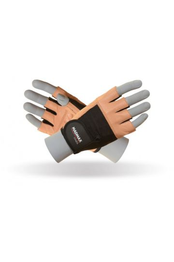 MadMax Fitness Natural Brown Handschuhe