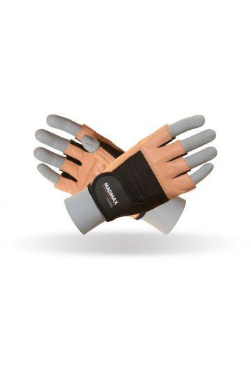 MadMax Fitness Handschuhe - Natürliches Braun