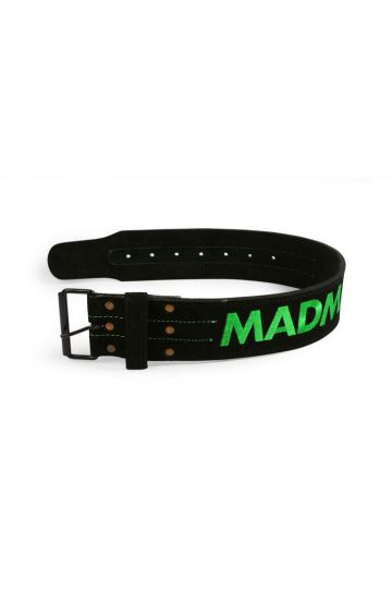 "MadMax Suede Single Prong belt - 4"" 10 mm Gürtel"