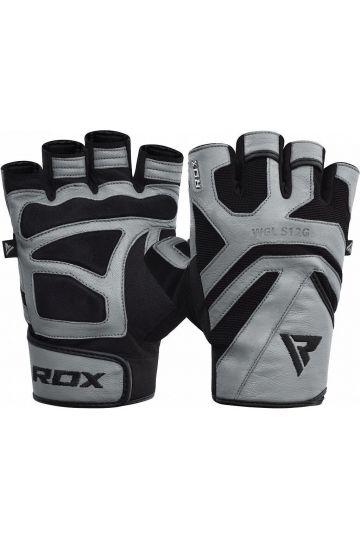 RDX Gym Weight Lifting S12 GRAY Handschuhe
