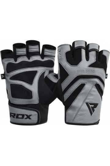 RDX Gym Weight Lifting S12 GRAY Handschuhe