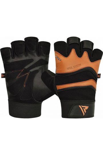 RDX S15 Fitness Handshuhe - Braun