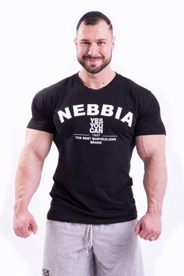 NEBBIA HARDCORE T-SHIRT MIT STICKEREI 396
