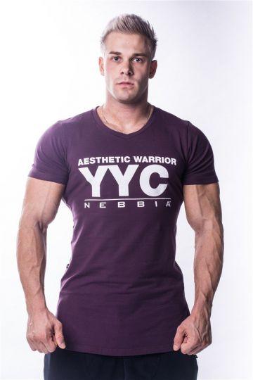 NEBBIA Atheltic Logo T-Shirt 730