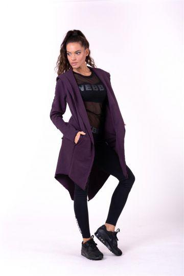 Nebbia Be rebel! predĺžený kabát 681
